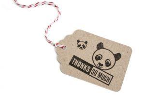 Stempel panda, Miss Honeybird 4