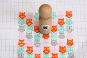 Mini stempel uiltje, Miss Honeybird 2