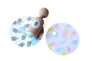 Mini stempel ijsje, Miss Honeybird 1