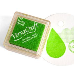 Stempelkussen Spring green (fris groen) Versacraft mini 1