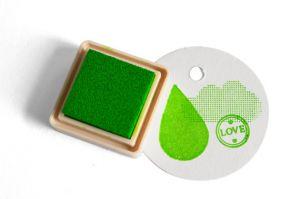 Stempelkussen Spring green (fris groen) Versacraft mini 2