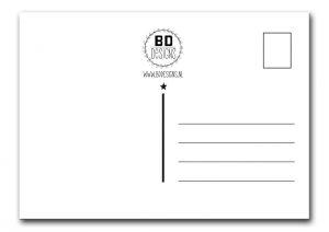A6 kaart Butterflies BDDesigns 2