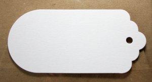 Wit of blanco label Liefde voor papier 2