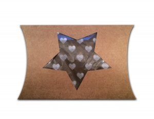 Pillowbox craft met uitsparing ster 2