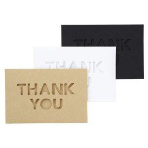 Thank you kaartjes bestemd voor maskingtape Masté 1