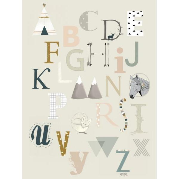 ABC A6 kaart Minimel