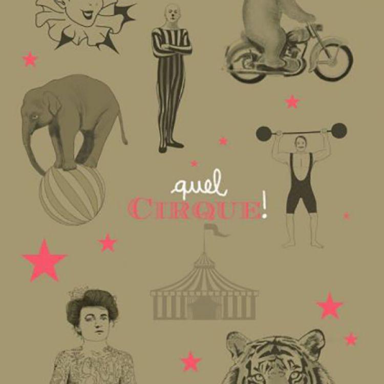A2 poster circus Minimel