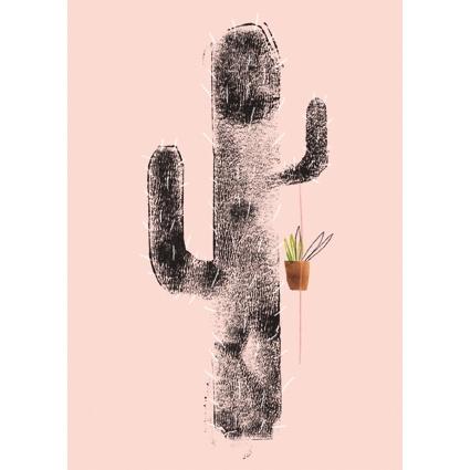 Cactus kaart rose, Ruth Hengeveld