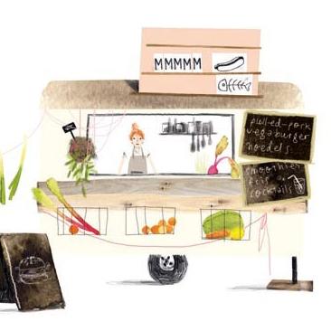Foodtruck kaart, Ruth Hengeveld