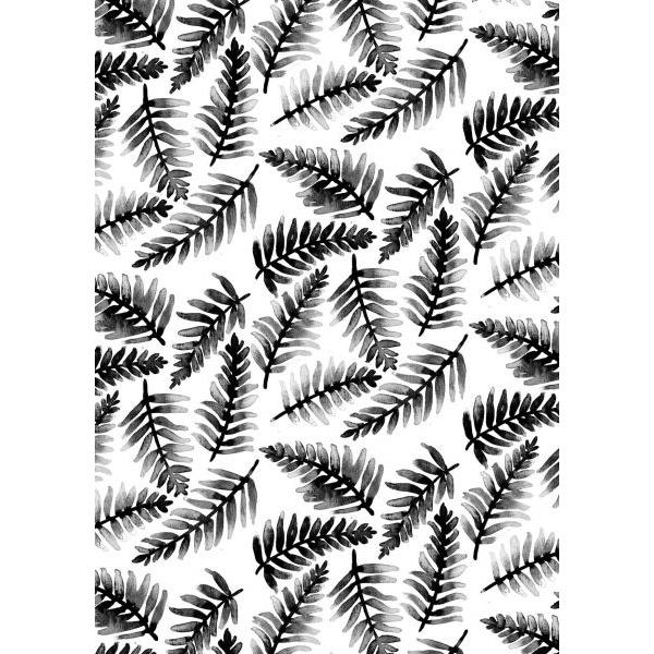 A4 poster varen bladeren Marieke ten Berge
