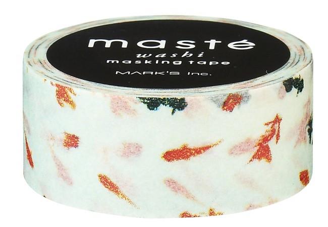 Maskingtape goudvis Masté