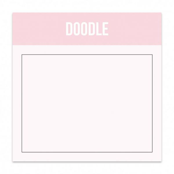 Mini blok doodle Studio Stationery