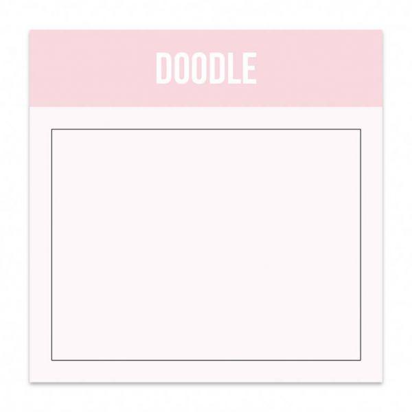 Mini blok doodle Studio Stationery