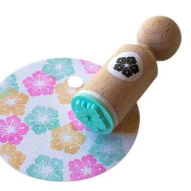 Mini stempel detail bloem Miss Honeybird