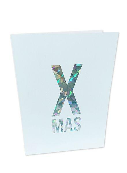 X Mas kerstkaart, Studio Stationery