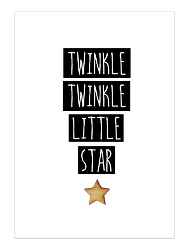 Kaart twinkle twinkle, Kleine Viking