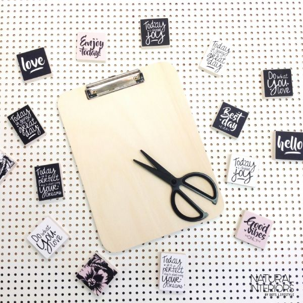 A5 Clipboard of klembord, Dots lifestyle