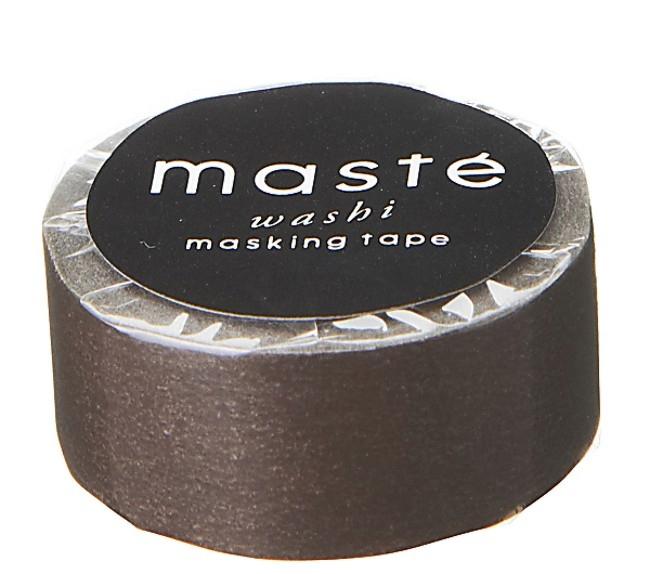 Maskingtape bruin, Masté