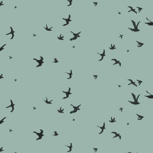 Kaart flying birds, Marieke ten Berge