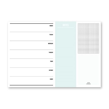 A4 planner, Studio Stationery