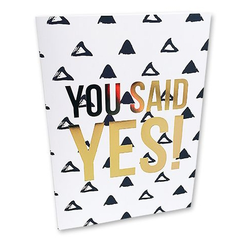 You said YES kaart Studio Stationery