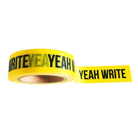 Maskingtape geel, Yeah write, Studio Stationery