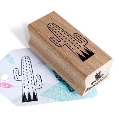 Stempel cactus streepjes, Miss Honeybird