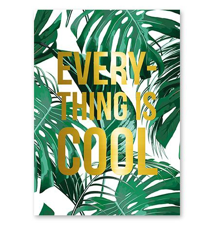 Kaart everything is cool, Studio Stationery