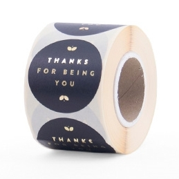 """Sticker """"Thanks for being you"""""""