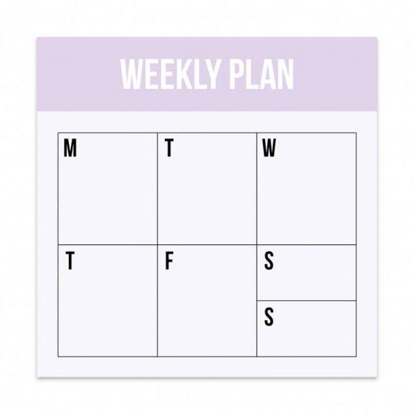 Mini weekplan blok Studio Stationery