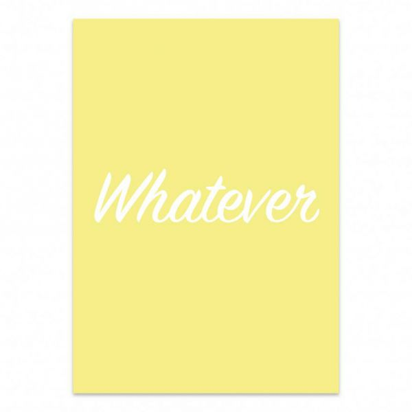 Kaart whatever, Studio Stationery
