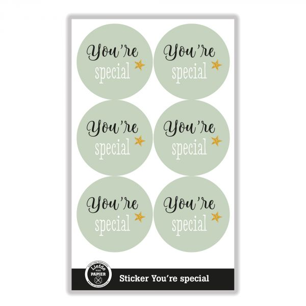 Sticker You're special
