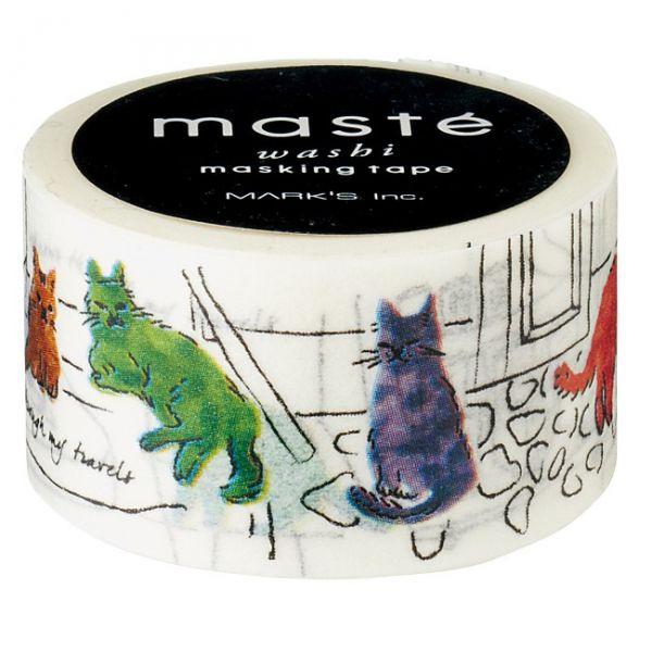 Maskingtape katten in Istanboel, Masté