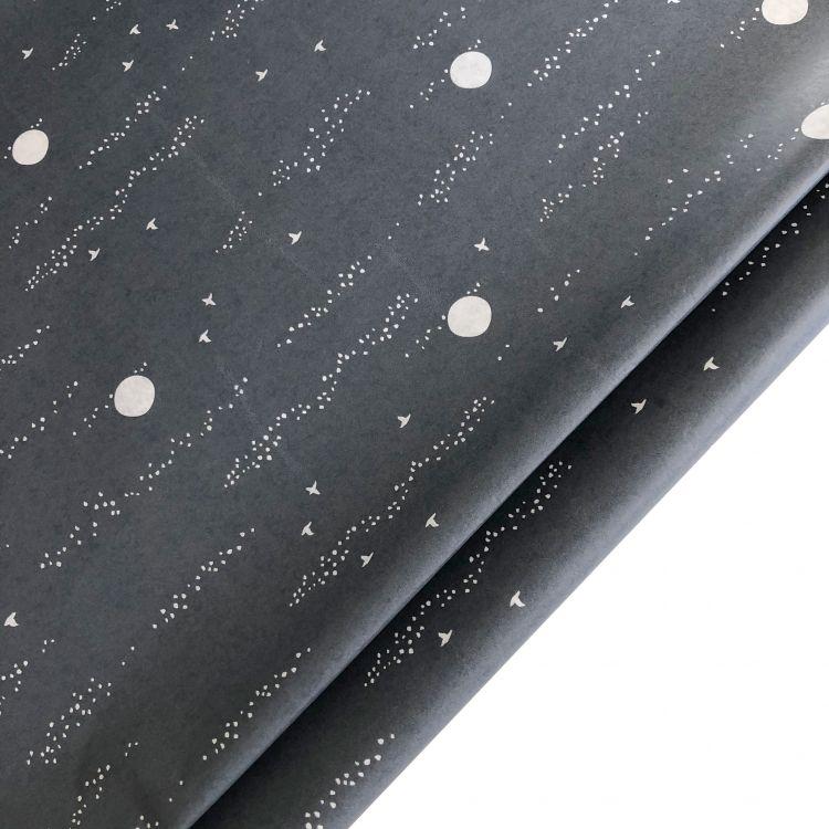 Vloeipapier grijs design, Wold