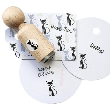 Ministempel kat of poes, Miss Honeybird