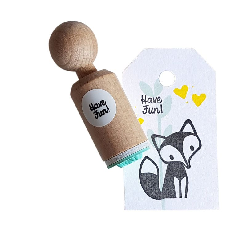Ministempel Have Fun (geschreven), Miss Honeybird