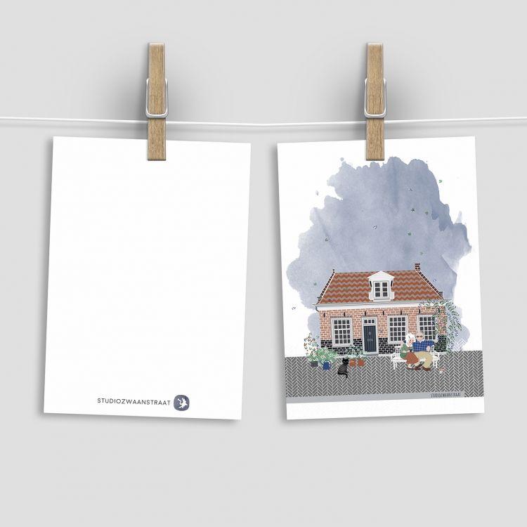 Kaart de bedoeling, Studiozwaanstraat