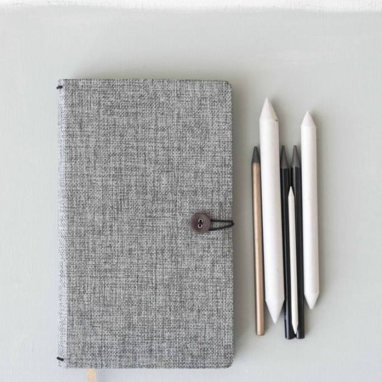 Luxe notitieboek Moss Agate, Tinne+Mia