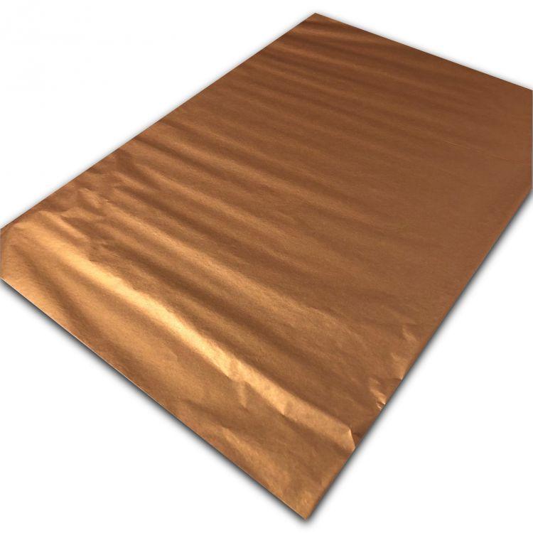 Vloeipapier brons metallic