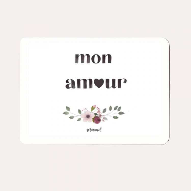 Kaart mon amour Minimel