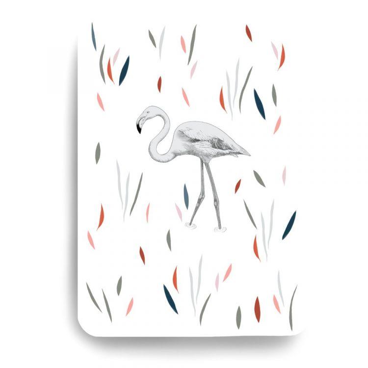 Kaart flamingo Minimel