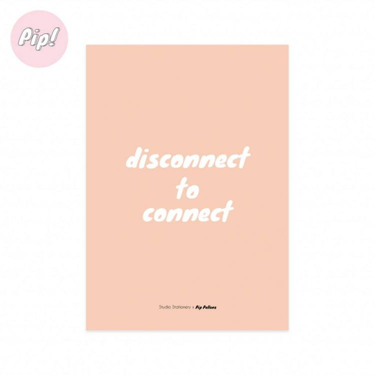 Kaart disconnect to connect, Studio Stationery
