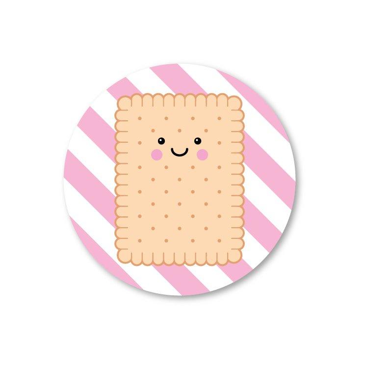 Sticker koekje, Studio Schatkist