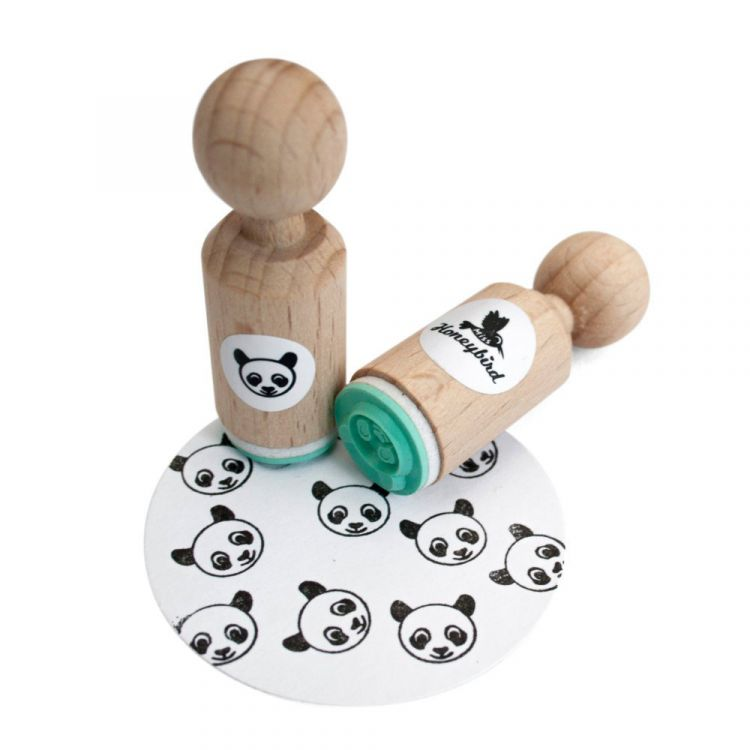 Mini stempel panda, Miss Honeybird