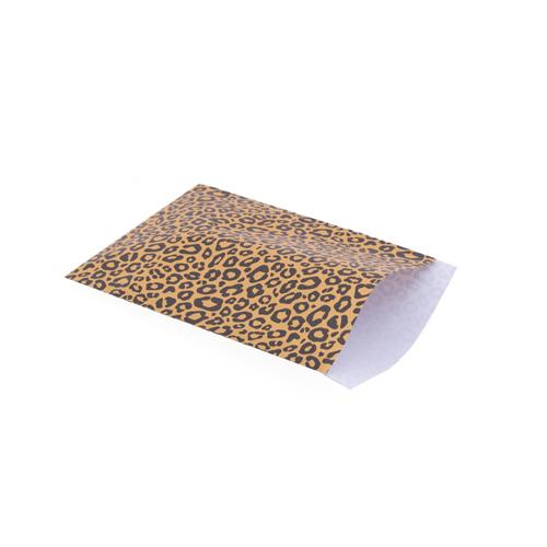 Zakje luipaard okergeel (middel)