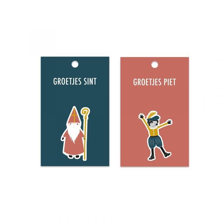 Sint en Piet labels, HOP