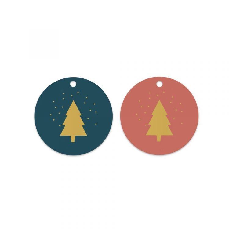 Kerstboom labels, HOP