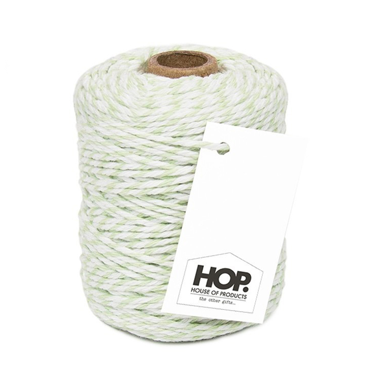 Touw - mint wit, HOP