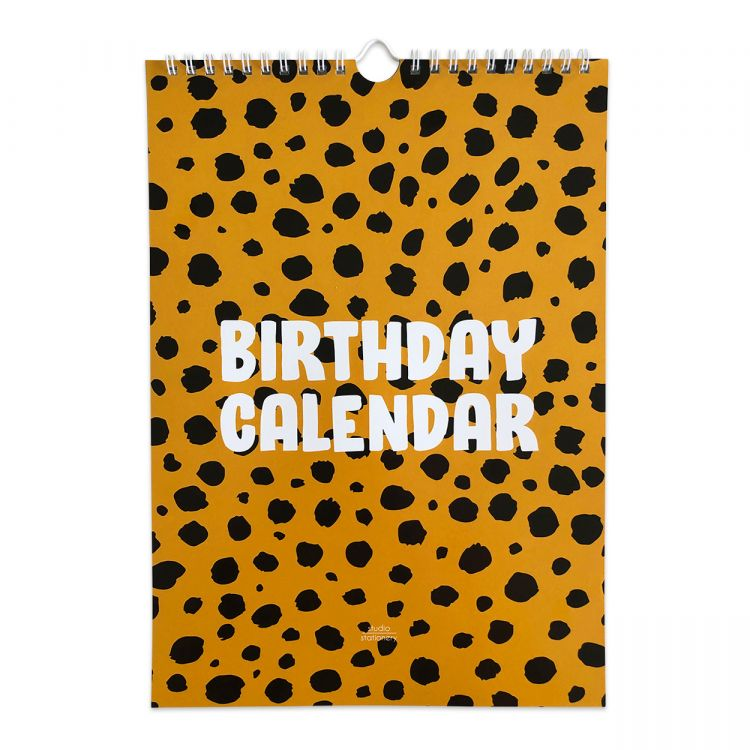 Kalender Cheetah, Studio Stationery