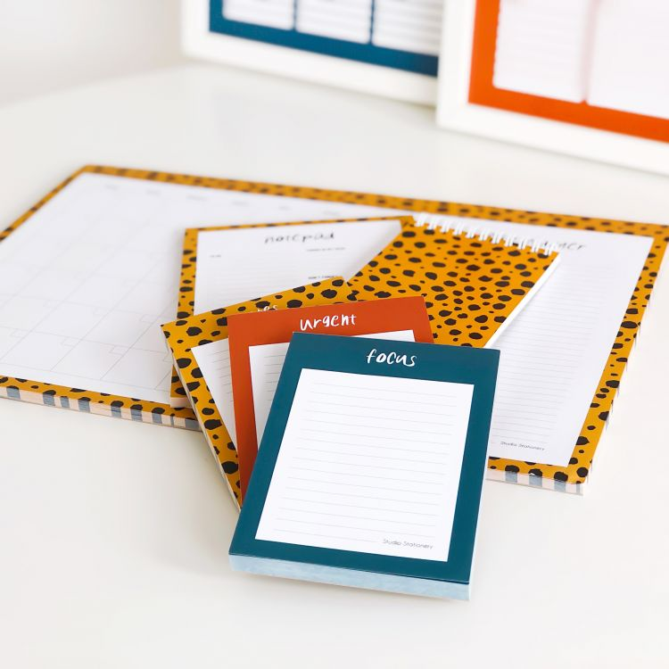 A6 Notitieblok focus, Studio Stationery